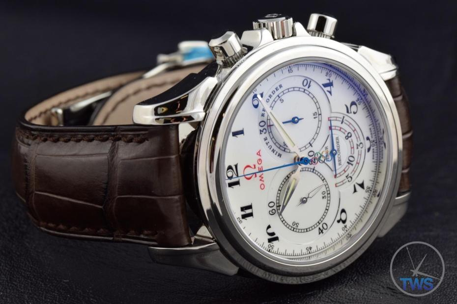 Omega De Ville Co-Axial Chronograph Olympic Edition Timeless Collection: Unboxing Review [422.13.41.50.04.001]