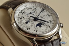 Longines Master Collection Moon Phase: Unboxing Review [L2.673.4.78.3] Arabic numerals on Longines Master Collection