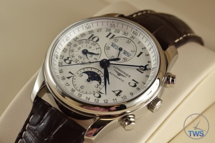 Longines Master Collection Moon Phase: Unboxing Review [L2.673.4.78.3] Sitting in supplied Longines box