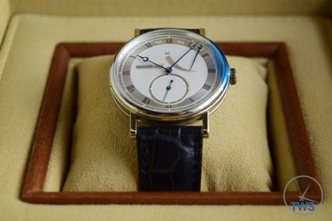 Breguet Classique 5277- Unboxing Review [5277bb-12-9v6] Sitting in supplied presentation box strait on
