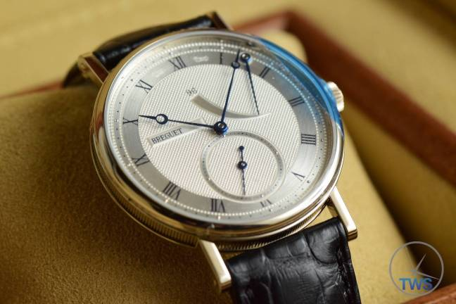 The Breguet Classique 5277: Unboxing Review - Siting in supplied box