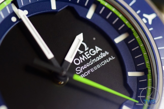 Omega Speedmaster X-33 Skywalker Solar Impulse [318.92.45.79.03.001] Dial Closeup © 2016 blog.thewatchsource.co.uk ALL RIGHTS RESERVED