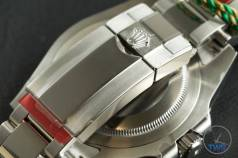 Review of the Rolex GMT Master II [116710BLNR] aka 'The Batman' Face down view of the new clasp