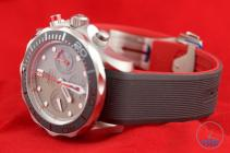 Side shot of Omega Seamaster 300m Diver Co-Axial Chronograph 44mm: Hands-On Review [212.92.44.50.99.001 ETNZ] facing the left