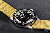 Oris watch diagonal with crown pointing away - Oris Divers Sixty-Five: Hands-On Review [01 733 7707 4064-07 5 20 22]