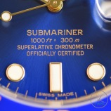 Sunburst electric blue dial on the Rolex Submariner Date: Hands-On Review [116613LB]