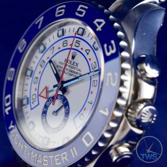 Rolex Yachtmaster II looking to the left - Hands-On Review [116680]