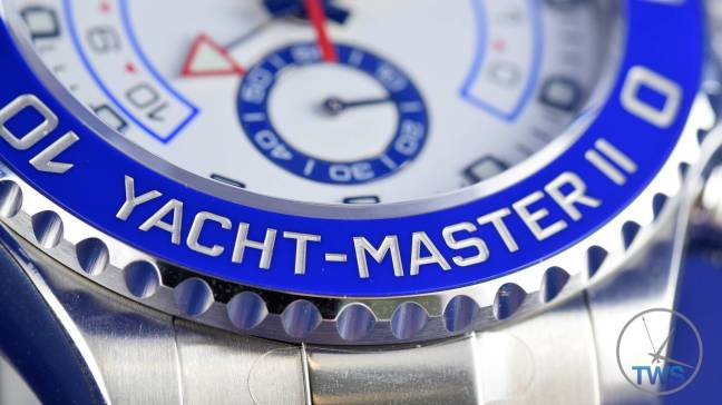 Rolex Yachtmaster II- Hands-On Review [116680] 034