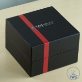 Supplied presentation box appearance - Tag Heuer Senna Special Editions waz1012.ba0883 Unboxing Review