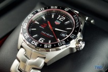 Tag Heuer Senna Special Editions waz1012.ba0883 Unboxing Review - Dial close up crown side near