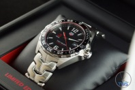 Sitting in box facing crown side - Senna Special Edition waz1012.ba0883 Watch Unboxing Review