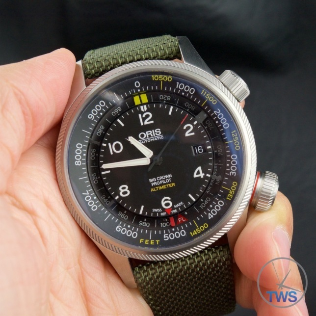 Oris Big Crown ProPilot Altimeter 47mm: Hands-On Review [01 733 7705 4134-07 5 23 14FC] - Hands-on photo