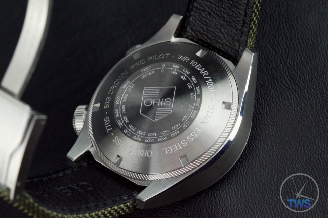 The Worlds First Automatic Watch With A Mechanical Altimeter